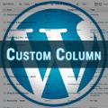 wordpress custom column