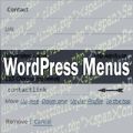 wordpress custom menus