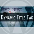dynamic title tag