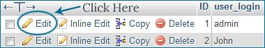edit default username