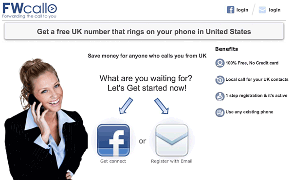 fwcall - UK virtual call